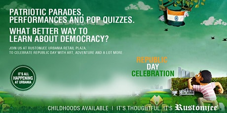 Patriotism Celebrated with FUN! – Only at Rustomjee Urbania tickets