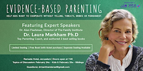 Getting Your Kids To WANT to Cooperate - Dr Laura Markham tickets