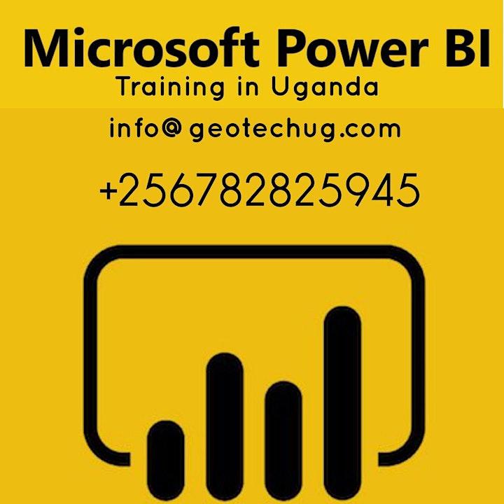 Microsoft Power BI Training   Microsoft BI Courses  in Kampala, Uganda image