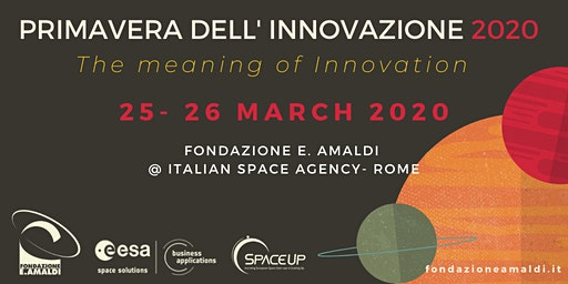 Primavera dell' Innovazione 2020 : Space & Technology Transfer