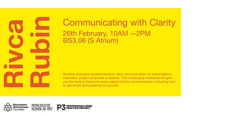 Communicating with  Confidence and Clarity - Rivca Rubin tickets