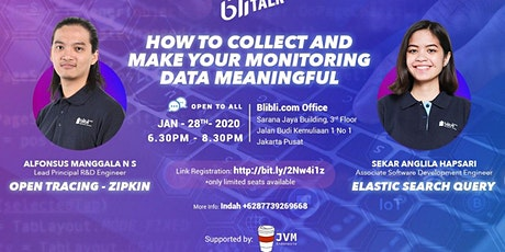 JVM Meetup #30 with Blibli - How to Collect & Make Your monitoring Data Meaningful tickets