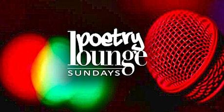 Poetry Lounge Sundays tickets