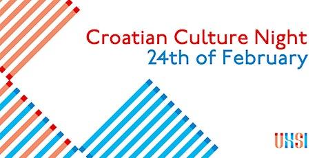 Croatian Culture Night tickets