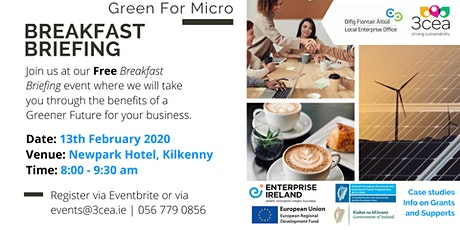 Green for Micro Free Breakfast Briefing - Kilkenny tickets