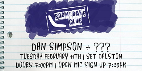 Boomerang Club #59 tickets