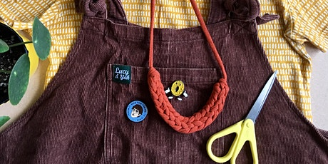 Upcycled Woven Jewellery at Stitch Studio tickets