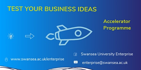 Swansea University Accelerator Programme tickets