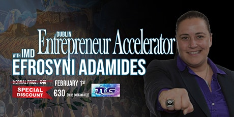 Entrepreneur Accelerator with Efrosyni Adamides tickets