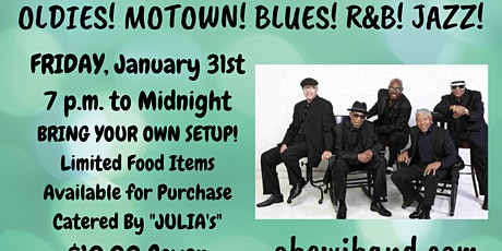 OLDE TOWN CONYERS - A Night of Music & Dance Oldies! Motown! BLUES! w OBEWI tickets