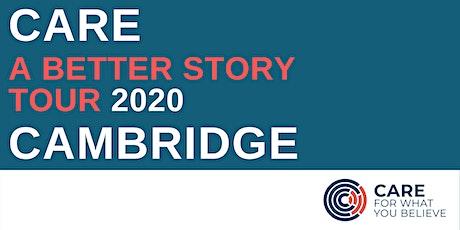 A Better Story Tour - Cambridge tickets