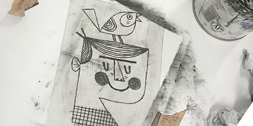 Criw Celf Printmaking with Alyn Smith at Printhaus   Age 11-16
