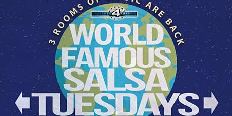 World Famous Salsa Tuesday @ Alhambra – 3 Rooms are Back! tickets