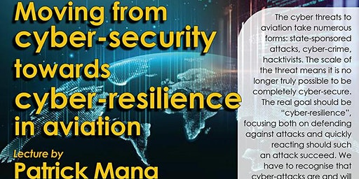 Moving from cyber-security towards cyber-resilience in aviation
