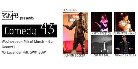 Comedy 43 - 4th of March tickets