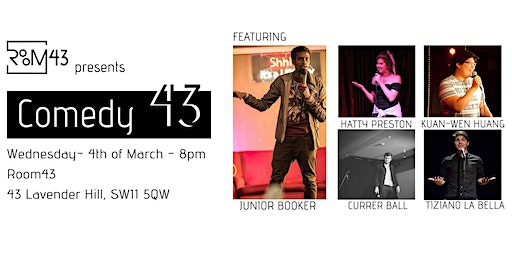 Comedy 43 - 4th of March