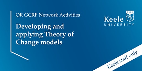 Developing & applying Theory of Change models tickets