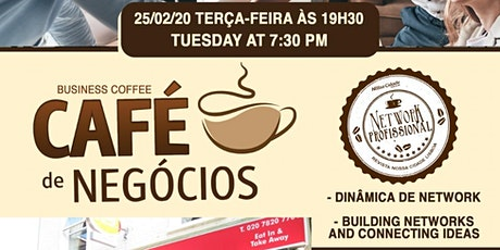 CAFÉ DE NEGÓCIOS LONDRES - BUSINESS COFFEE LONDON ingressos
