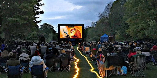 Lion King (1994) on Beverley Racecourses Outdoor Cinema Experience