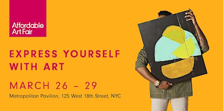 Affordable Art Fair NYC Spring 2020 tickets