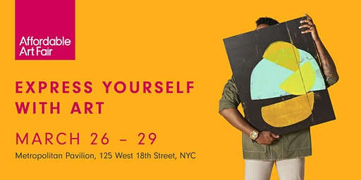 Affordable Art Fair NYC Spring 2020