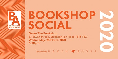 Booksellers Association Social - DRAKE the Bookshop (Stockton-on-Tees) tickets