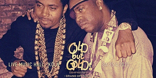 Old but Gold - Ü30 Hip Hop Party - Grand Opening w/ Denyo, Teddy O & Crypt