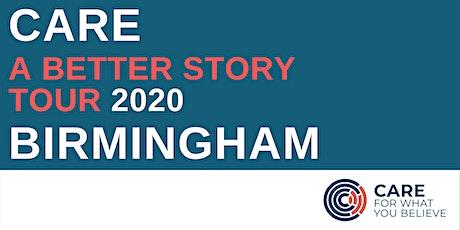 A Better Story Tour - Birmingham tickets