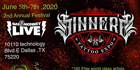 SINNERS TATTOO EXPO tickets