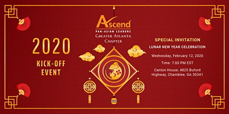 2020 Ascend Greater Atlanta Kick-Off Event, Special Invitation to Lunar New Year Celebration tickets