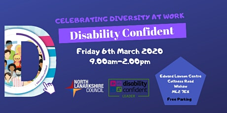 Disability Confident - Celebrating Diversity at Work tickets