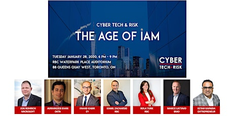 Cyber Tech & Risk - The Age of IAM tickets