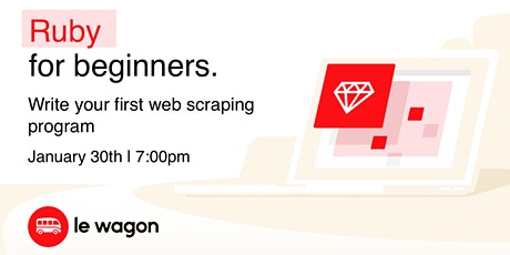 Web Scrapping with Ruby tickets
