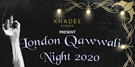 London Qawwali Night 2020 tickets
