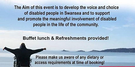 """Positively Empowering Swansea """"Making Independent living voices heard & The art of co-production"""" tickets"""