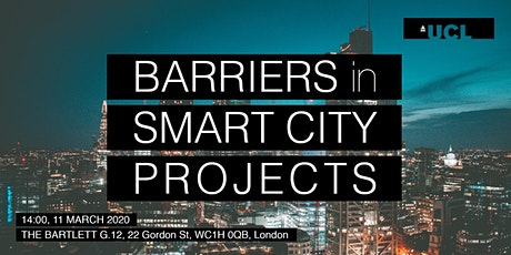 Barriers in smart city projects tickets
