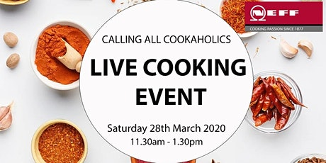 NEFF Live Cooking Event tickets