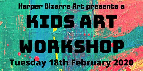 Kids Art Workshop with Harper Bizarre Art tickets