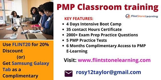 PMP Certification Training in Charlestown, NH