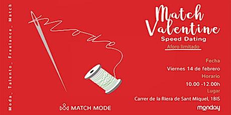 MATCH Valentines entradas
