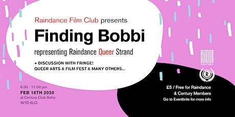 Raindance Film Club Presents FINDING BOBBI tickets