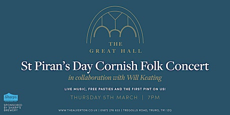 St Piran's Day Cornish Folk Concert at The Alverton tickets