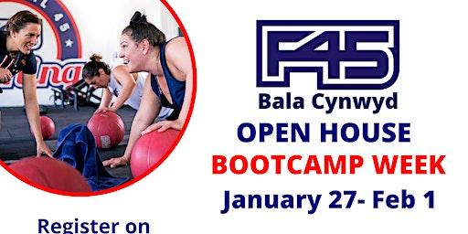 F45 Bala Cynwyd's OPEN HOUSE - BOOTCAMP WEEK