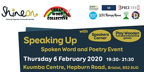 Speaking Up: Spoken Word and Poetry Event tickets