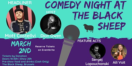 Comedy Night at The Black sheep tickets