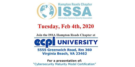ISSA Hampton Roads Chapter Meeting tickets