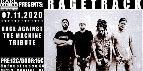 Rage Against The Machine Tribute – Ragetrack Tickets