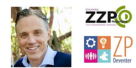 Kom kennismaken met ZP Deventer en toets je onderneming tickets