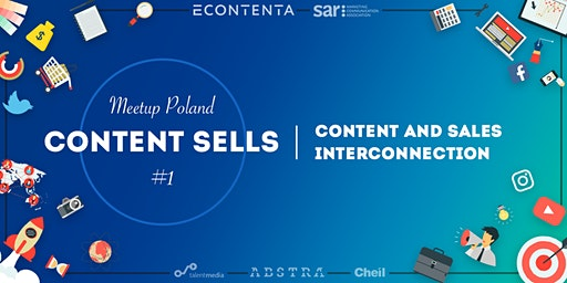 Content Sells Meetup Poland  #1. Content and sales interconnection