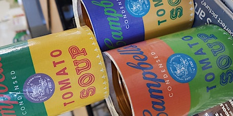 Pop-up Painting - Andy Warhol's Pop Art Campbell Soup Cans tickets